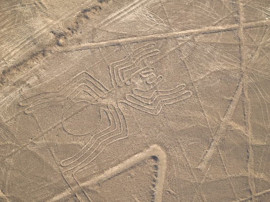 THE NAZCA LINES, PERU: The mind-boggling scale and detailed intricacies of the massive drawings of animals, birds, ...