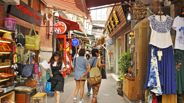 Tianzifang is an arts and crafts enclave that has developed from a renovated residential area in the French Concession ...