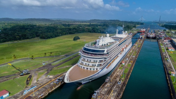 The 930-guest ship Viking Sun made its first Australia port in February 2018