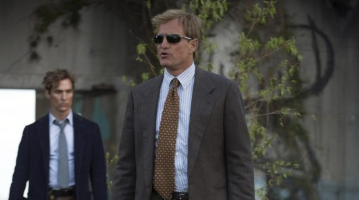 The first series of <i>True Detective</i>, starring Matthew McConaughey and Woody Harrelson, is a solid choice for a plane.
