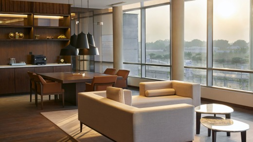 For beauty of architecture, Andaz Delhi is among the best hotels in the world.