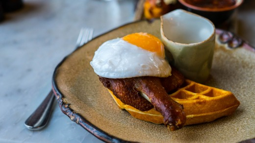 London breakfast could be the cure for jet-lag.
