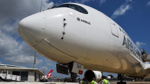Flawless record: The Airbus A350.