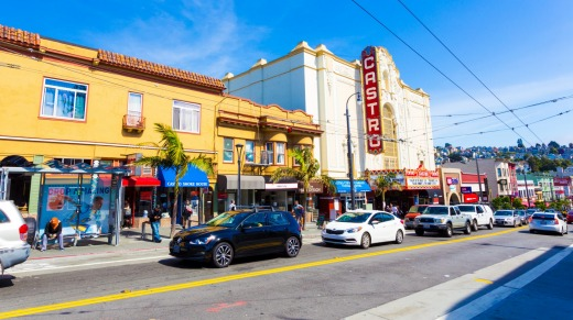 The historic Castro Theatre in San Francisco.