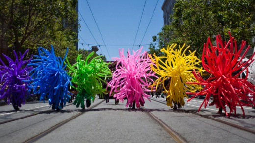 LGBTQI paride in San Francisco.