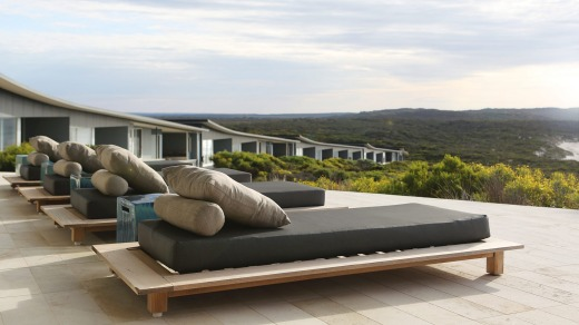 Time to relax: Southern Ocean Lodge, Kangaroo Island.