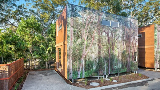At one with nature: Ngurra Eco Lodges.