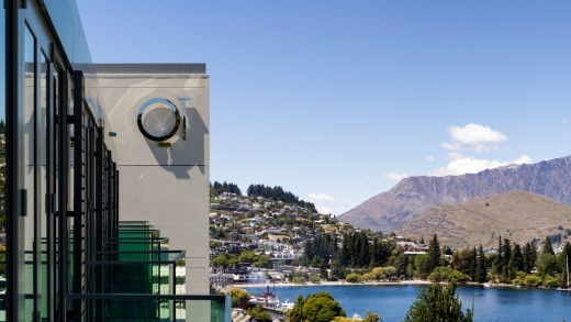 The vistas never end at QT Queenstown.