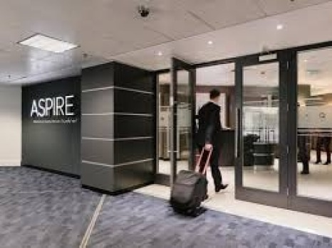 Aspire airport lounges.