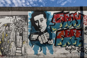 Berlin Wall, East Side Gallery, Berlin.