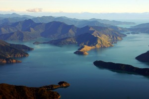 Maori legend holds that the long arms of the Marlborough Sounds were created when the warrior god Kupe fought a giant ...