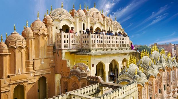 HAWA MAHAL: This five-storey building, curved so it could dispense with serious foundations (and resemble Hindu god ...