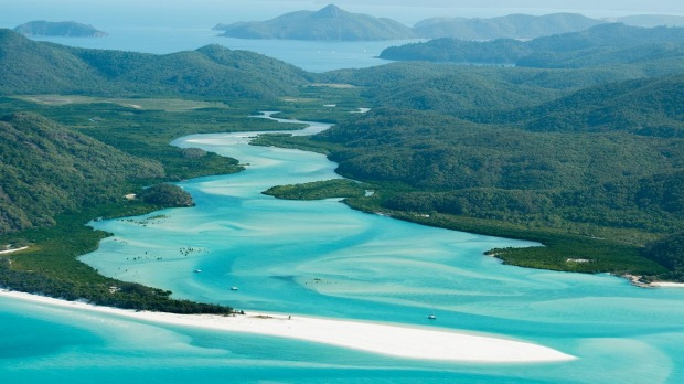 Hard to beat: Whitehaven Beach, Queensland.
