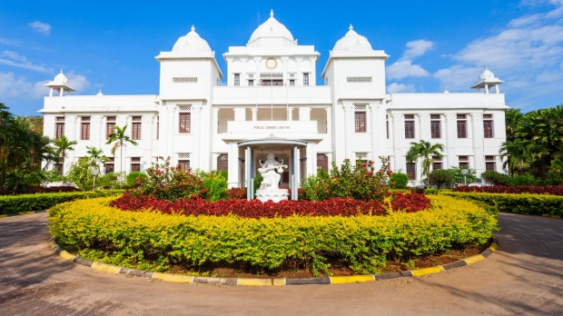 The Public Library is one of Jaffna's most notable landmarks.