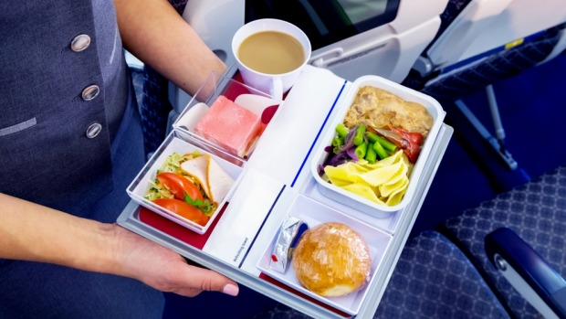 Why would you want to eat more airline food than necessary?