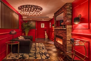 Loved up: The Dark Romance Suite at The Star Sydney.