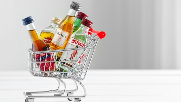 Fill your shopping carts with booze in Europe.