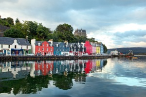 Tobermory - the capital of Mull.