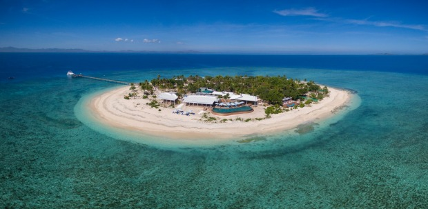 MALAMALA, FIJI: A tip for those visiting Fiji's newest beach club, located on a private island a half-hour boat trip ...