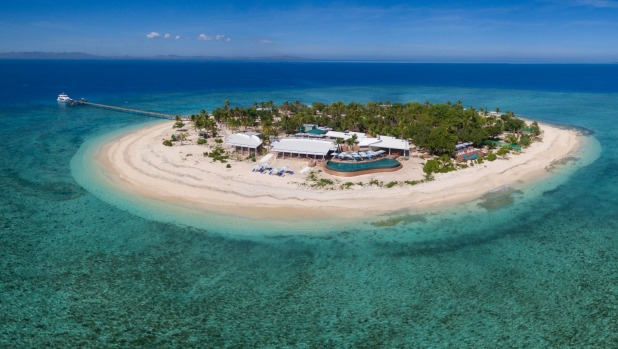 Malamala Beach Club is a world-class day escape on tiny Malamala Island.