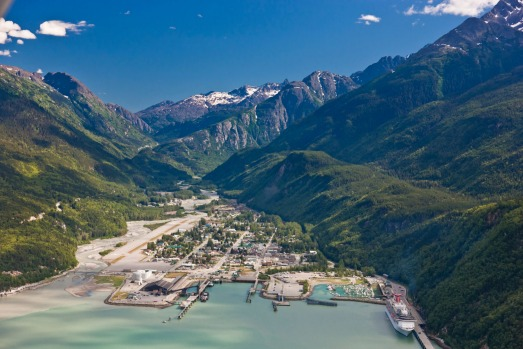 SKAGWAY, ALASKA, US: There's gold in them thar hills. Or at least there was before the gold rush in the late 1800s and ...