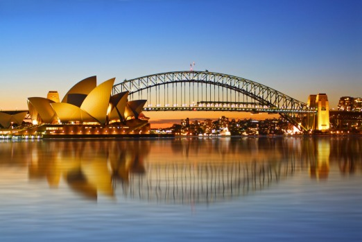 SYDNEY, AUSTRALIA: Of course Australia's great natural harbour makes the cut. Sail Aways from Sydney are generally in ...