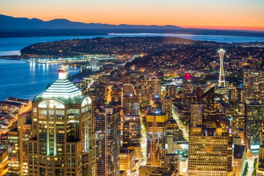 SEATTLE, WASHINGTON, US: The home of Pearl Jam, Jimi Hendrix and Starbucks is also a busy port, even though the city ...