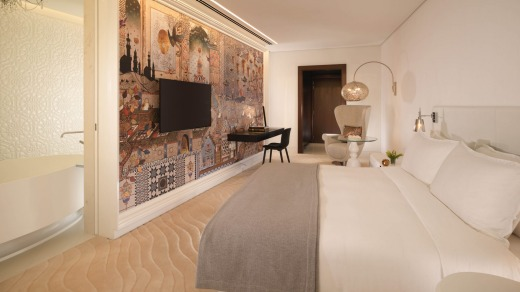 Spacious and bright, the mostly white rooms are all that a hotel room should be while managing to escape the pervasive ...