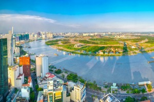Feels different: Ho Chi Minh City in Vietnam.