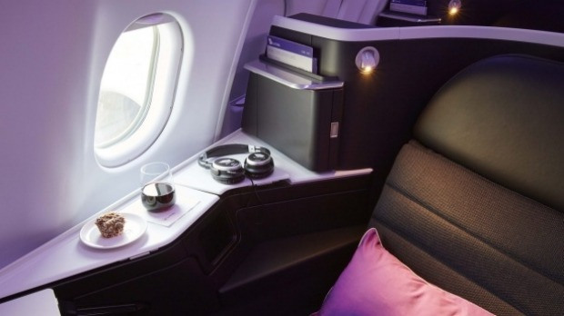 A seat on Virgin's 'The Business'.