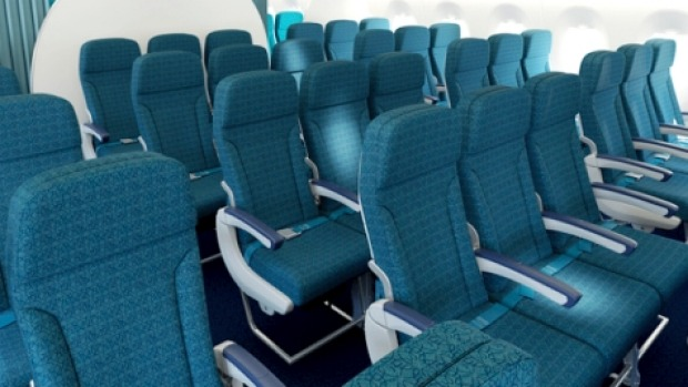 The Secrets Behind Airline Seats Why They Re Often Blue