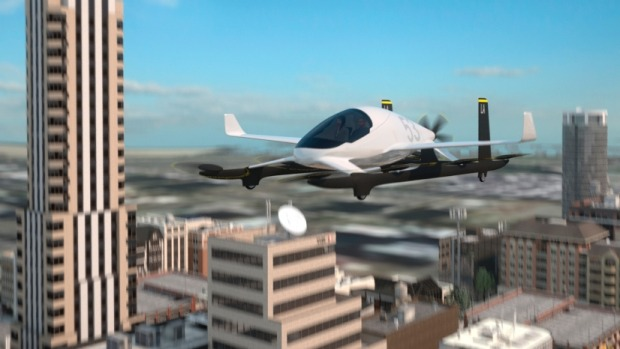 The eVTOL from Aurora Flight Technologies. The company is now owned by Boeing.