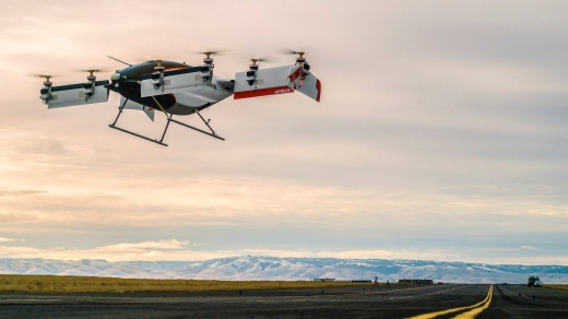 Airbus's Vahana has completed its first test flight.
