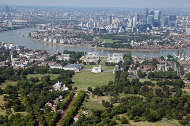 GREENWICH PARK: Most visitors rush from Old Royal Naval College to National Maritime Museum and uphill to the Royal ...