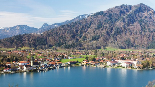 Lake Tegernsee, Bavaria, Germany.