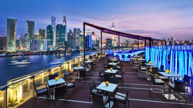 Unbeatable views: Banyan Tree Shanghai on the Bund.