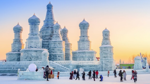 Harbin Ice Festival 2019 Rising Temperatures In China