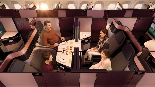There are five-star hotel rooms less comfortable than Qatar Airways' Qsuite.