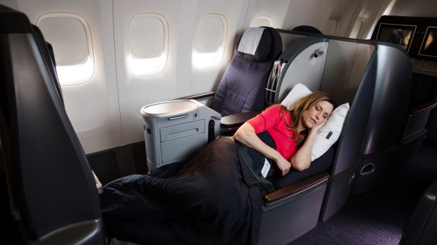 f2126fc559f1 Airline review  United Airlines Boeing 787-9 Dreamliner Polaris Business  Class