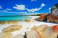 The Bay of Fires, Tasmania.