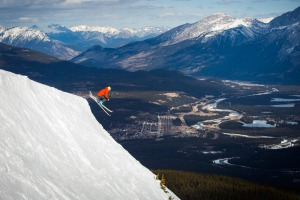 The mixed terrain in Jasper includes alpine bowls and challenging backcountry.