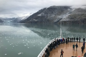 Holland America Line sails into Alaska, which is expected to see 1,165,500 cruise passengers this year.