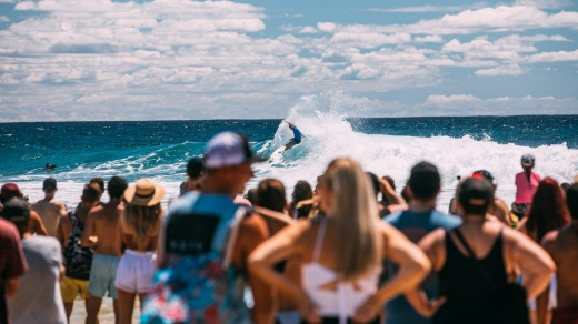 Quiksilver Roxy Pro at Snapper Rocks.