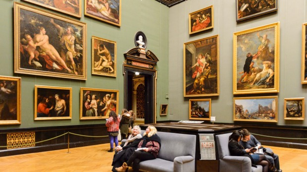 Gallery of the Kunsthistorisches Museum (Museum of Art History), which first opened in 1891.