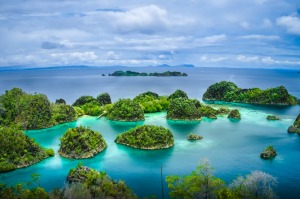 Don't let travel warnings put you off visiting the Raja Ampat islands.