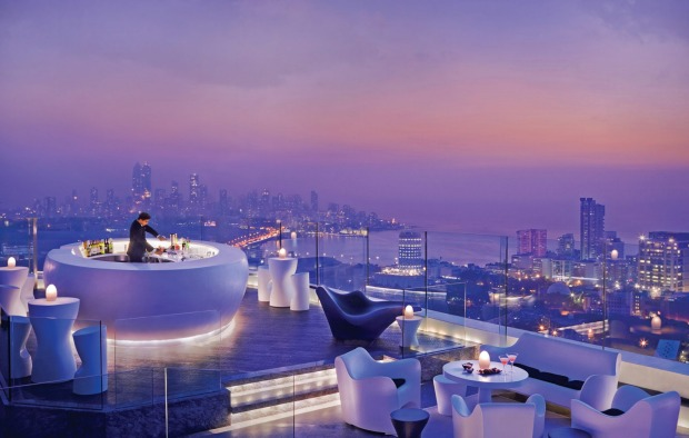 9. MUMBAI, INDIA: You will need a head for heights at the aptly named Aer Bar and Lounge, Mumbai's highest rooftop bar ...
