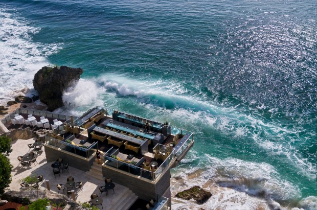5. BALI, INDONESIA: Prepare to rock – quite literally – at Rock Bar Bali at Ayana Resort and Spa, without doubt one of ...