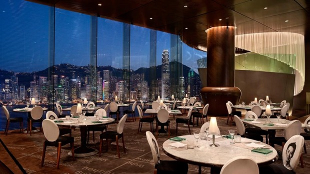 7. HONG KONG, CHINA: From its aerie on the 28th floor of the illustrious Peninsula Hotel, Felix gives fortunate diners a ...