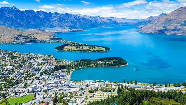 Queenstown, New Zealand, is beautiful but flights from Australia are the least cost-effective for travellers.