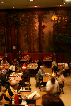 CLIFTON'S CAFETERIA, DOWNTOWN LA: A Downtown LA institution since 1935, the recent reopening of Clifton's Cafeteria saw ...